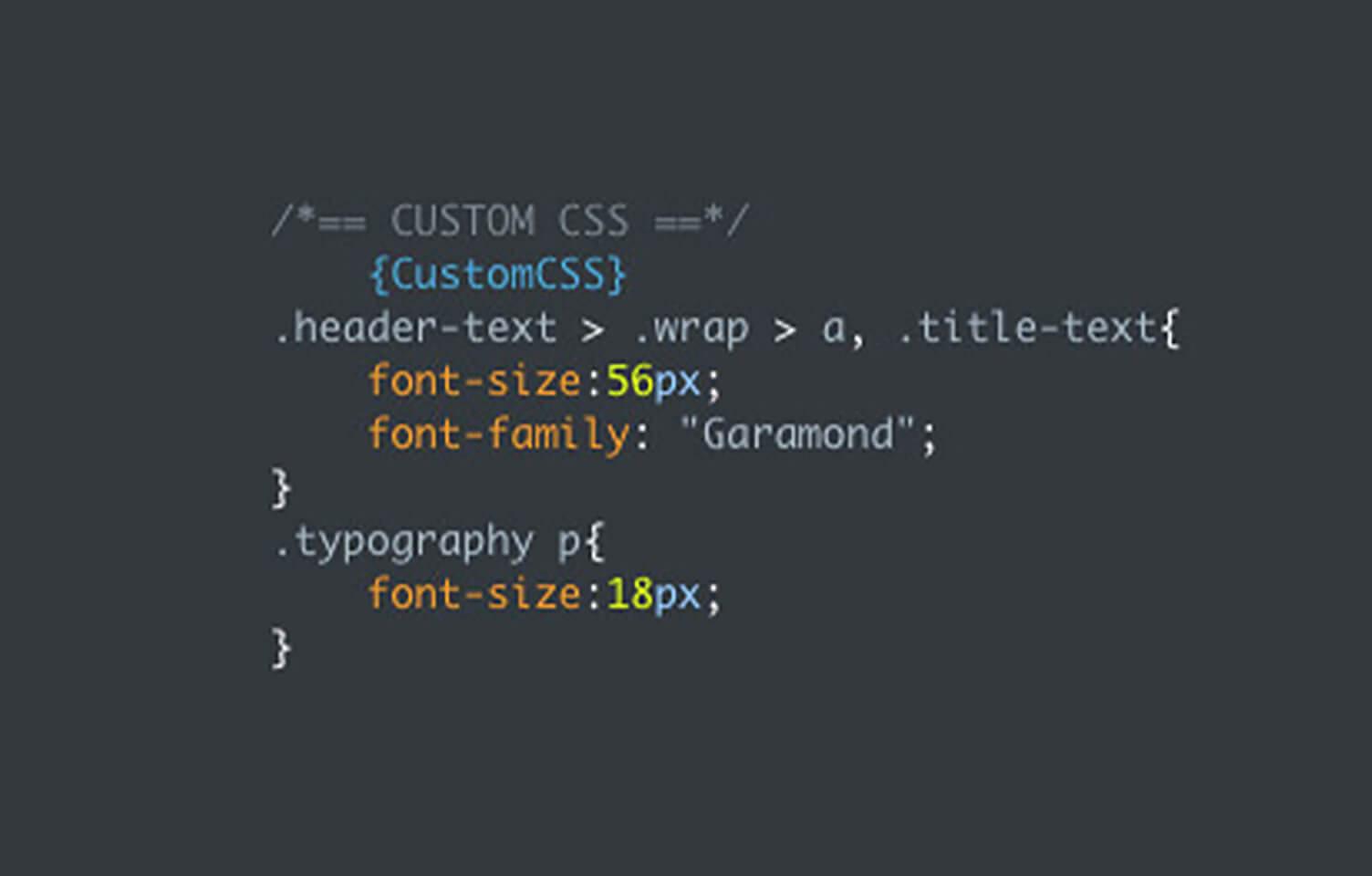 ブラウザの機能を使い、クラス名を調べて、直接CSSを記述します。