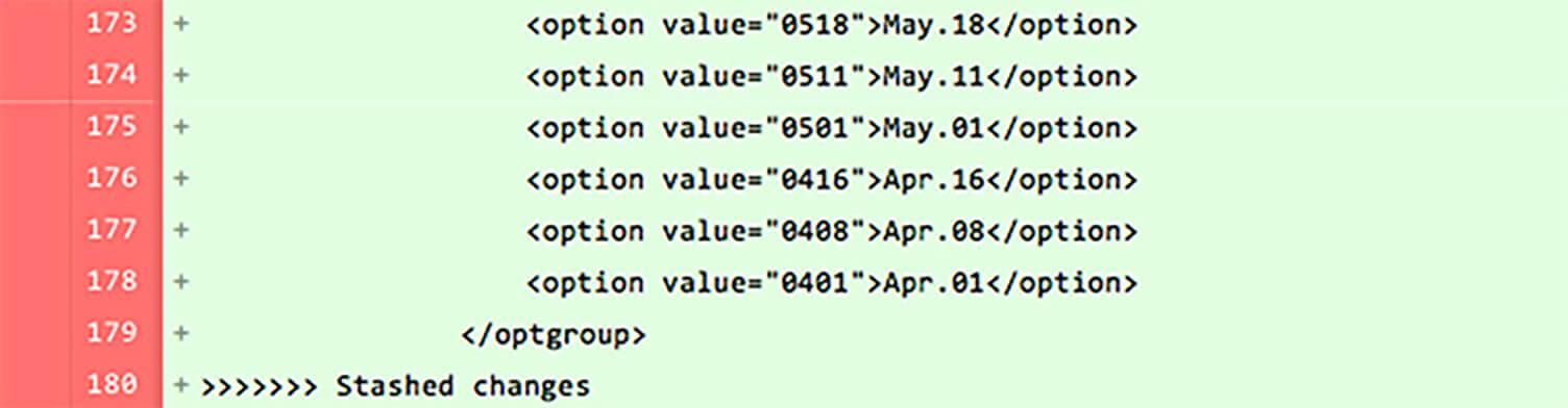同時に同じファイルの同じ箇所を編集する